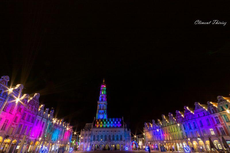 Arras Ville de Lumières Multicolore